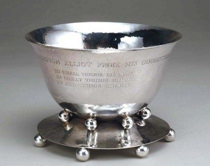 Arts and Crafts Silver Bowl - designed by C.R. Ashbee