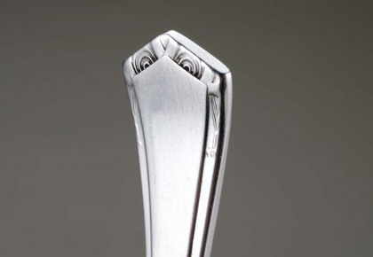 Art Deco Silver Cake Forks (set of 6)