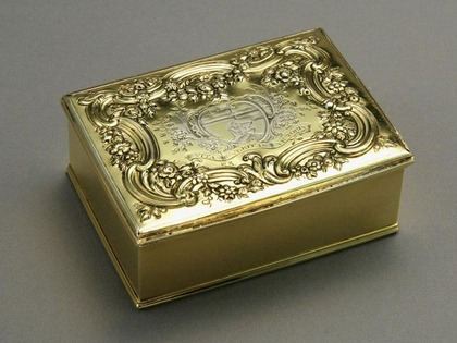 Irish Silver Freedom Box - Londonderry