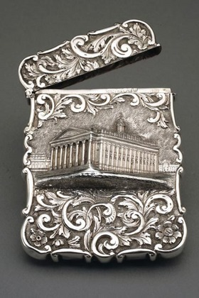 Castle-top Card Case - Royal Exchange - Nathaniel Mills