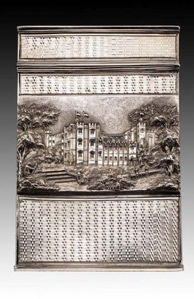 Castle-Top Card Case - Windsor Castle, Kenilworth Castle