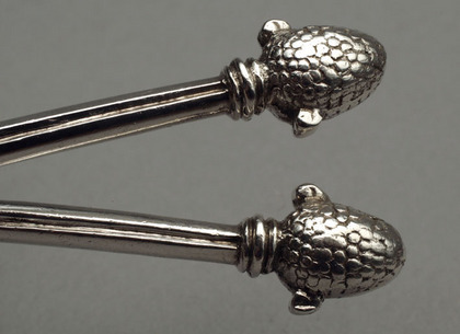 Arts and Crafts Silver Spoons - Sibyl Dunlop