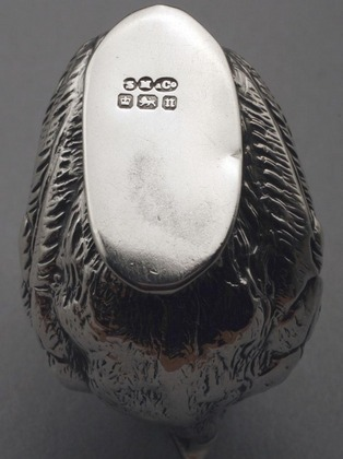 Sampson Mordan Silver Pincushion - Chick