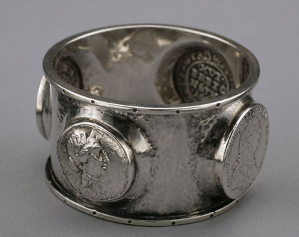 Charles Ashbee Silver Napkin ring - Arts and Crafts