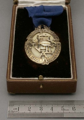 Omar Ramsden Silver Badge of Office - The London Master Printers Association