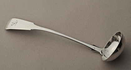 Scottish Provincial Silver Toddy Ladle - Dundee