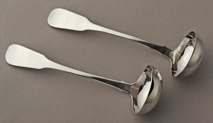 Scottish Provincial Silver Toddy Ladles (3) - Dundee - William Constable