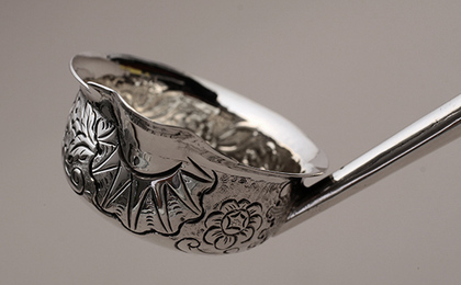 Irish Provincial Silver Toddy Ladle - Cork