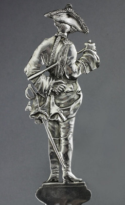 Hanau Silver Frederick the Great Serving Spoon - Der Alte Fritz
