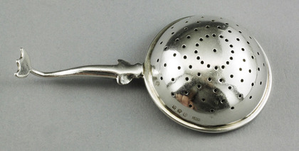 Scottish Silver Tea Strainer - Traprain Treasure