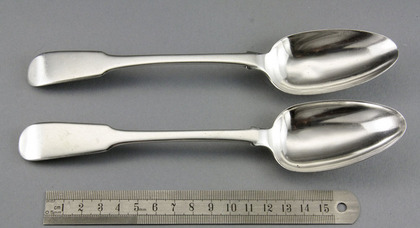 Chinese Export Silver Tablespoons (Pair) - Yatshing