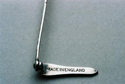 Asprey Silver book mark