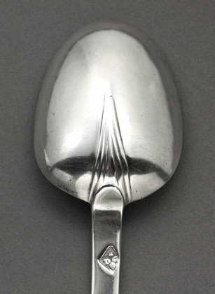 William and Mary Silver Trefid Spoon - Dorothy Grant