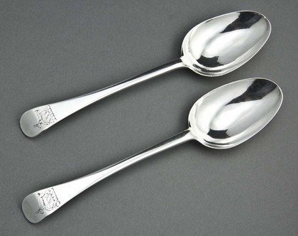 Cape Silver Tablespoons (Pair) - Johannes Combrink