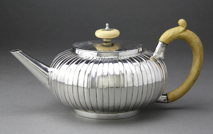 Rare Early Georgian Silver Teapot - Richard Zouch