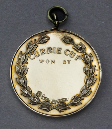 Gold Currie Cup Medallion - South African Football Association