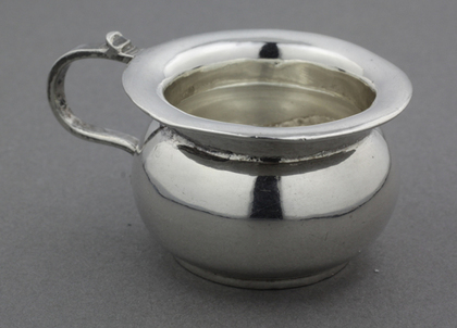Copy of 18th Century Dutch Silver Miniature Chamber Pot - Van Geffen