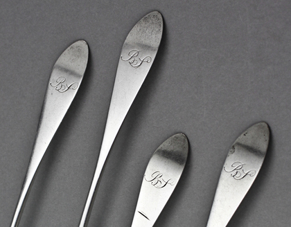 Scottish Provincial Silver Teaspoons (Set of 4) - James Douglas, Dundee