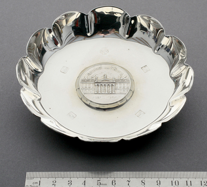 Irish Silver Easter Rising 50th Anniversary Dish, 1916-1966