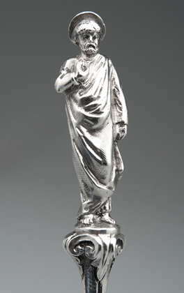 Arts & Crafts Silver Apostle Serving Spoon - Frederick Courthope