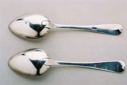 Cape tablespoons (pair) - Old English pattern