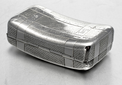Georgian Silver Snuff Box - Finlayson Family
