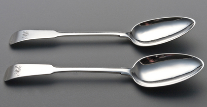 Aberdeen Silver Tablespoons (Pair) - Peter Ross