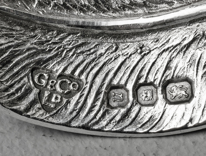 Prince of Wales Investiture Commemorative Silver Caddy Spoon - ICH DIEN, Garrard & Co, Regent St.
