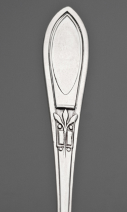 Sterling Silver Art Deco Teaspoons (Set of 6) - Unknown Pattern