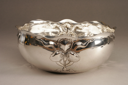 Art Nouveau Silver Swedish Bowl