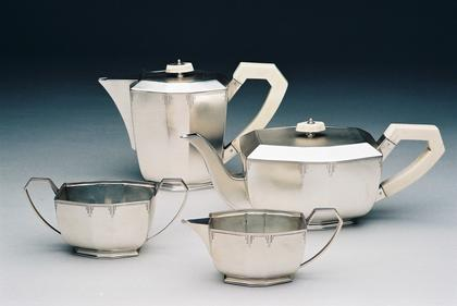 Art Deco Silver Tea Service (4 piece)