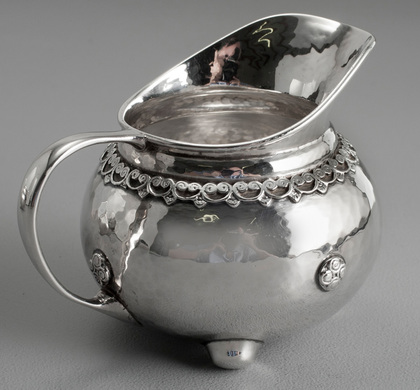 Liberty & Co Arts & Crafts Silver Milk Jug
