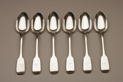 Irish Silver Teaspoon set (6)