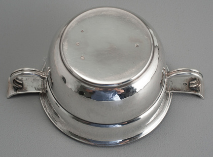 Dutch Arts & Crafts Silver Christening Bowl