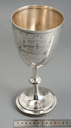 Natal Lawn Tennis Championship Antique Silver Trophy - Mabel Grant, Edmund Nevill