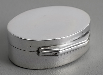 Early Antique Silver Vinaigrette - Thomas Willmore, No Hinge to Grille