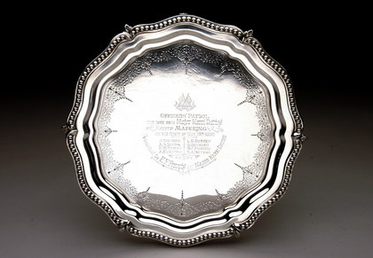 Boer War Silver Salver - Relief of Mafeking